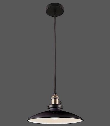 Colgante 1 Luz Bagao Negro Ø26cm E27 - ACB