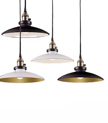 Lámpara Colgante 1 Luz Bagao Ø26cm E27 - ACB