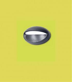 Aplique exterior ESES Aluminio 3.9W 170lm 4000K
