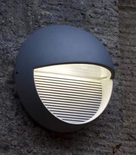 Aplique exterior RD Aluminio 9W 140lm 4000K