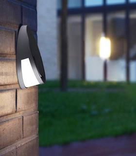 Aplique exterior LED SW Aluminio 9W 330lm 4000K
