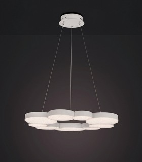 Lámpara LUNAS Led 76W Dimmable Blanco 5760 Mantra