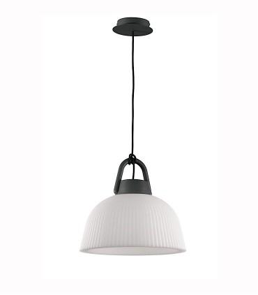 Lámpara colgante Kinké 37cm Gris Antracita, 6211