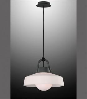 Lámpara colgante Kinké 40cm Gris Antracita Mantra, 6212