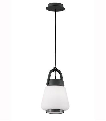 Lámpara Colgante Kinke 22cm Gris Antracita Mantra,6210