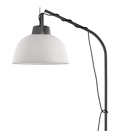 Lámpara colgante Kinke 37cm Gris Antracita Mantra con enchufe, 6276