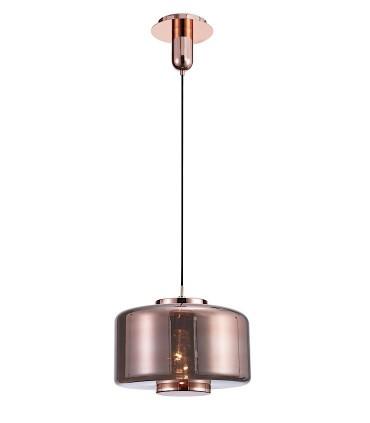 Lámpara colgante Jarras 40cm cobre de Mantra ref: 6190
