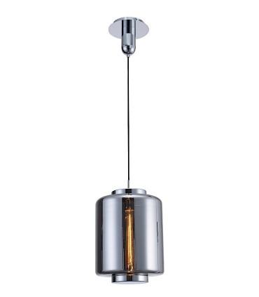 Lámpara colgante Jarras mediana 30cm cromo-grafito de Mantra, 6194