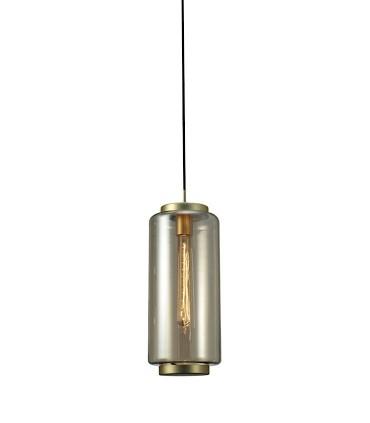 Lámpara colgante Jarras Pequeña 17cm cobre de Mantra, 6196,detalle tulipa