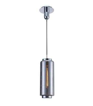 Lámpara colgante Jarras Pequeña 17cm cromo y grafito de Mantra, 6197