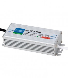 Transformador 12v 60w Ip67 Estanco