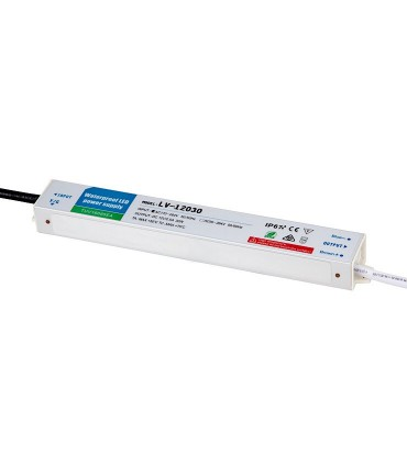 Transformador 12v 30w Ip67 Estanco