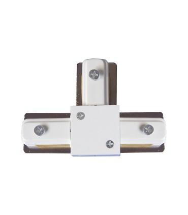 Conector T Blanco 2 Hilos. Utilizado para unir 3 carriles.