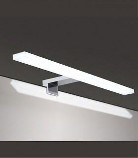 Aplique baño led NADIA 10W IP44 10252 cromo, soporte pinza al espejo