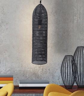 Lampara 1 L OLIMPIA 17cm. negro 453018 - Schuller