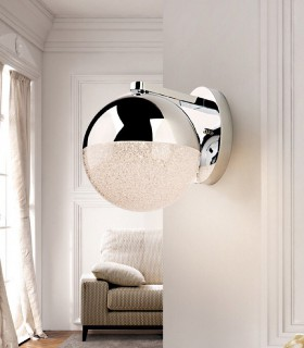Aplique 1 luz led SPHERE 20cm. - Schuller