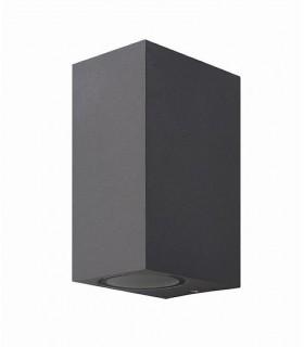 Aplique exterior doble Kandanchú 6514 gris oscuro Mantra