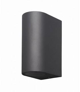 Aplique exterior doble Kandanchú 6510 gris oscuro Mantra