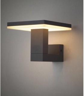 Aplique Tignes 6497 gris oscuro Mantra 10w. Aplique iluminado.