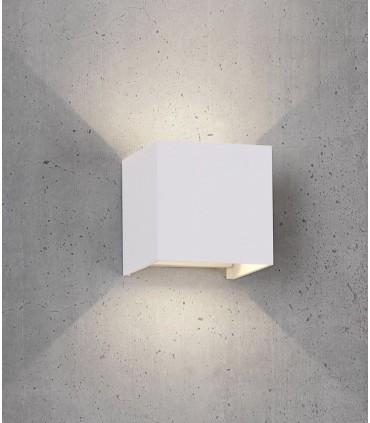 Aplique Exterior Davos 6521 cubo blanco de Mantra