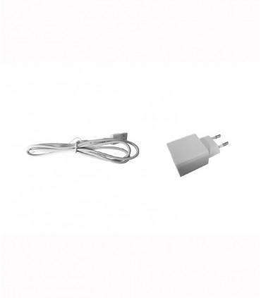 Cable USB y cargador para sobremesa Astun 6491 de Mantra Iluminación.