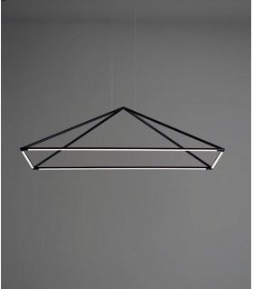 Lámpara Tubs 48w negro 00-6000-05-M1 Leds C4