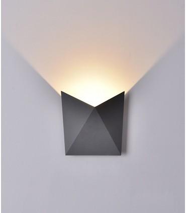 Aplique exterior led Triax gris oscuro Mantra 6525