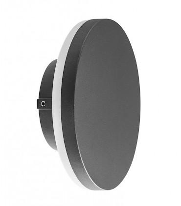 Aplique exterior Bora gris oscuro 6534 circular Mantra