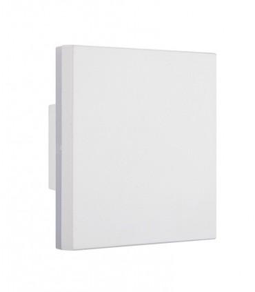 Aplique exterior Bora blanco 6537 cuadrado Mantra