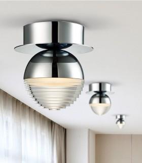 Plafon FLAVIA 1L LED cromo - Schuller