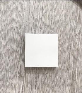 Plafón cuadrado mini sin marcos fino 12w 6000K 1000lm 12x12x2.7cm blanco Vista frontal..