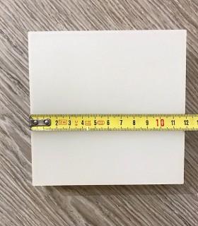 Plafón cuadrado MINI sin marcos fino 12w 6000K 1000lm 12x12x2.7cm blanco