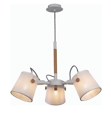 Lámpara de Techo Blanca NÓRDICA II 3L 5461 Mantra