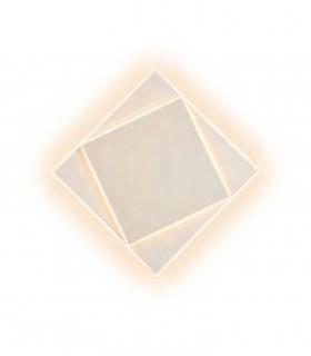 Aplique Dakla cuadrado 18W Blanco 6426 Mantra