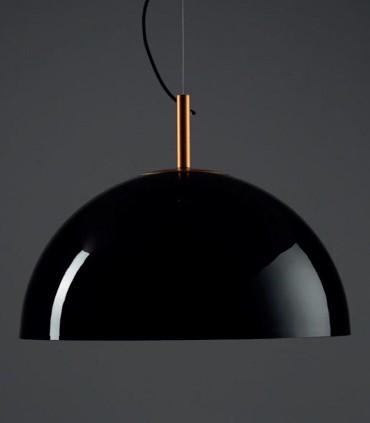 Lámpara Umbrella Ø100cm Negro-Oro Grok