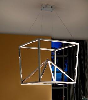 Lámpara OBLIC inox led - Schuller 753260
