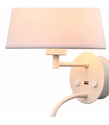 Aplique Caicos Blanco 2L con USB 6091 Mantra