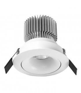 Foco Empotrable FORMENTERA  LED 12W Blanco Basculante Mantra