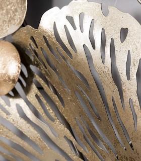 Adorno de decoración para pared metal 138x76 cm