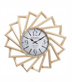 Reloj de pared Grand Hotel metal 60cm oro viejo