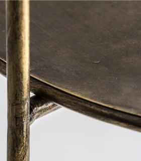 Lámpara de pie Lingen con mesa