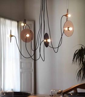 Lámpara FEST C1223 6 luces bicolor.