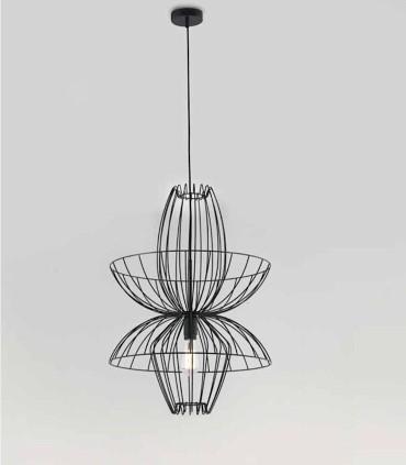 Lámpara ELLEN C1048, puedes elegir entre los siguientes colores: blanco, negro, cromo o oro.