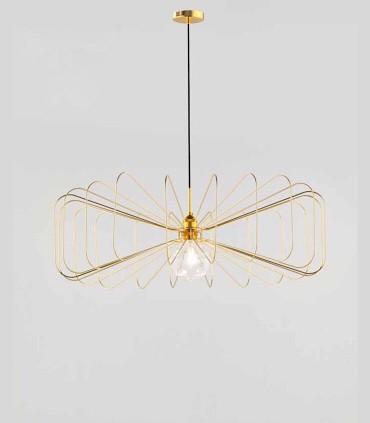 Lámpara Crawford C1047 ORO. Puedes elegir mas colores: blanco, negro, cromo o cobre.