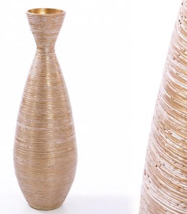 Jarrón de suelo alto 80cm Fabricado en cerámica.