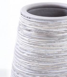 Jarrón de suelo gris 70cm