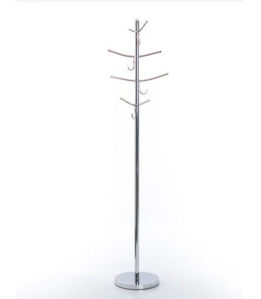 Perchero suelo acero-cobre 178cm