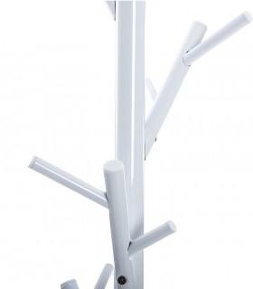 Detalle Perchero suelo blanco 170cm
