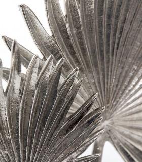 Figura hojas níquel 38cm