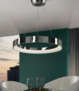 Lámpara CRONOS cromo grande - Schuller